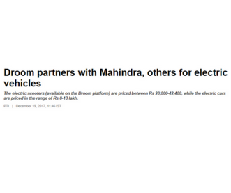 https://auto.economictimes.indiatimes.com/news/industry/droom-partners-with-mahindra-hero-electric-for-evs/62130527