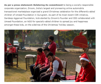 http://delhincrnews.in/2017/12/28/gurugram-sandeep-aggarwal-foundation-and-droom-partner-with-umeed-foundation-this-holiday-season/