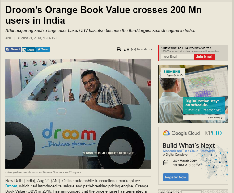 https://auto.economictimes.indiatimes.com/news/aftermarket/drooms-orange-book-value-crosses-200-mn-users-in-india/65489850