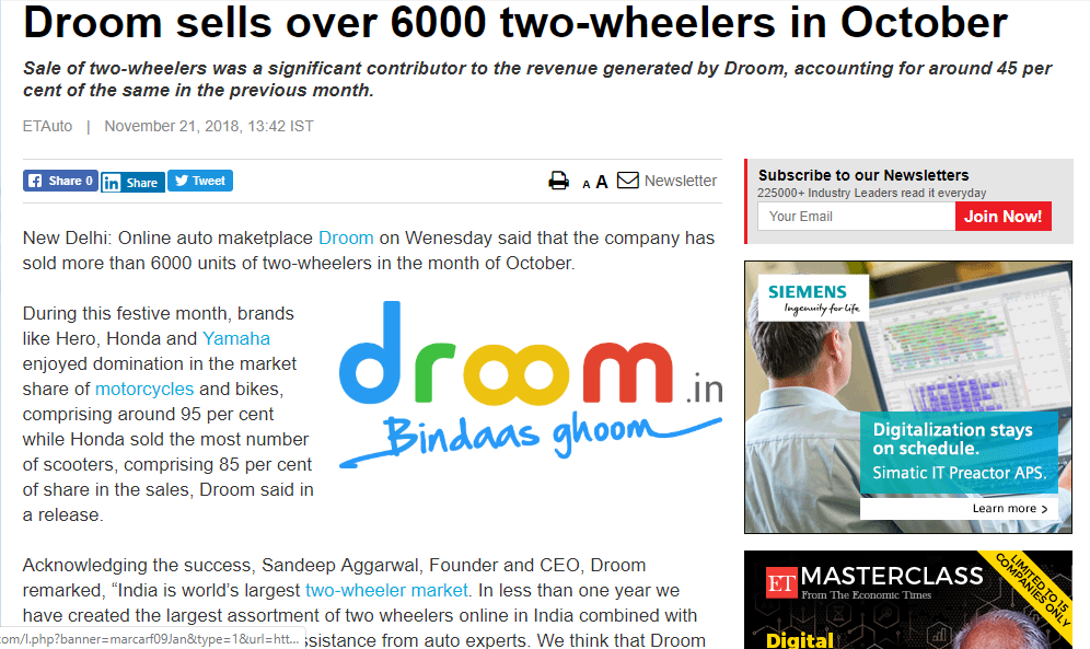 https://auto.economictimes.indiatimes.com/news/two-wheelers/motorcycles/droom-sells-over-6000-two-wheelers-in-october/66732245